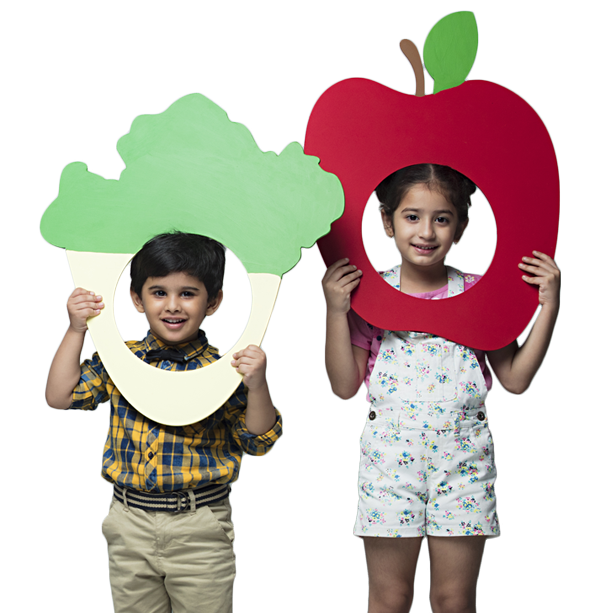 toddlers learning names of fruits and vegetables Best play school